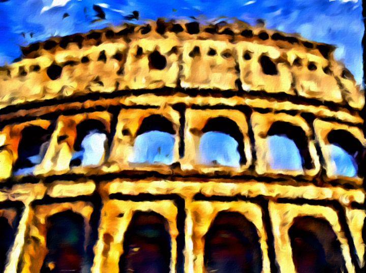 Roman Colosseum - Prints by Michel