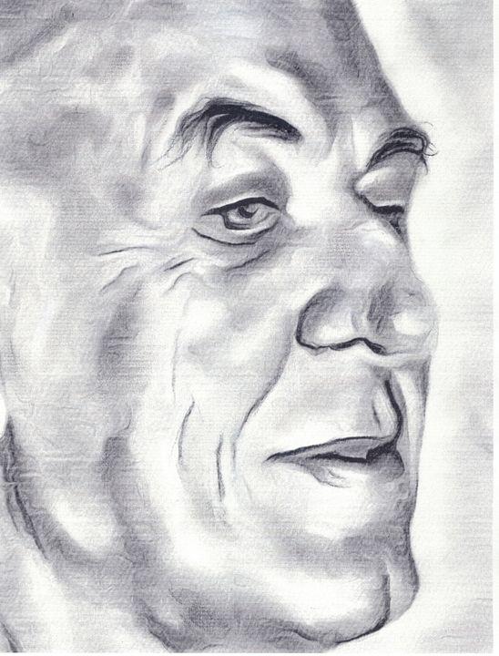 """""""Pensive Man"""" - Prints by Michel"""