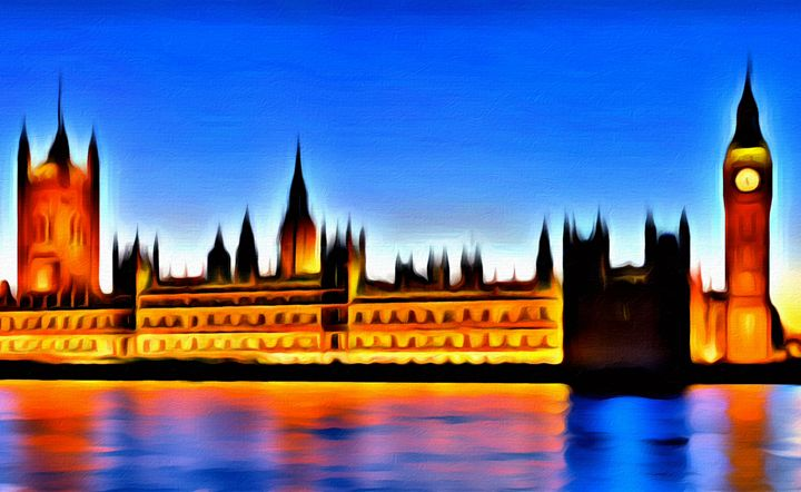 Westminster Palace in London - Prints by Michel