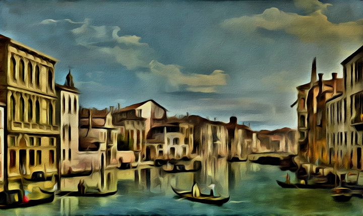 Grand Canal in Venice - Prints by Michel