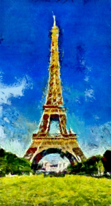 Eiffel Tower in Paris - Prints by Michel