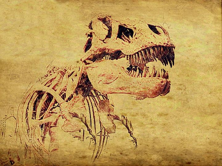 """Dinosaur"" - Prints by Michel"
