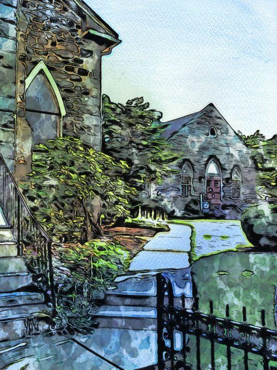 """""""The Gateway"""" - Prints by Michel"""