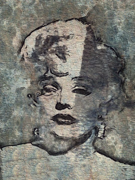 """""""The Tragedy of Marilyn Monroe"""" - Prints by Michel"""
