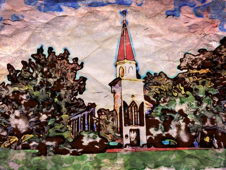 Lovely Church - Prints by Michel