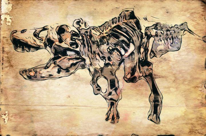 Tyrannosaurus Rex - Prints by Michel