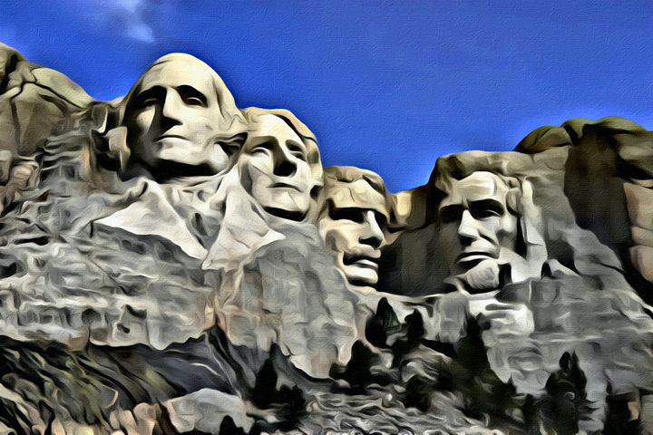 Mt Rushmore - Faces of Stone - Prints by Michel