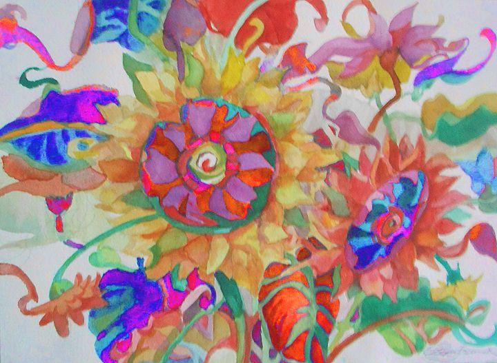 Sunflower Sisters - Pepsiart