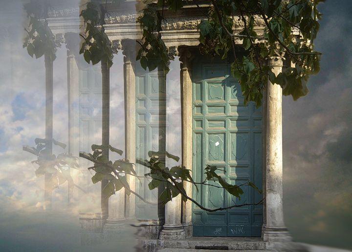 Paris Door - Pepsiart