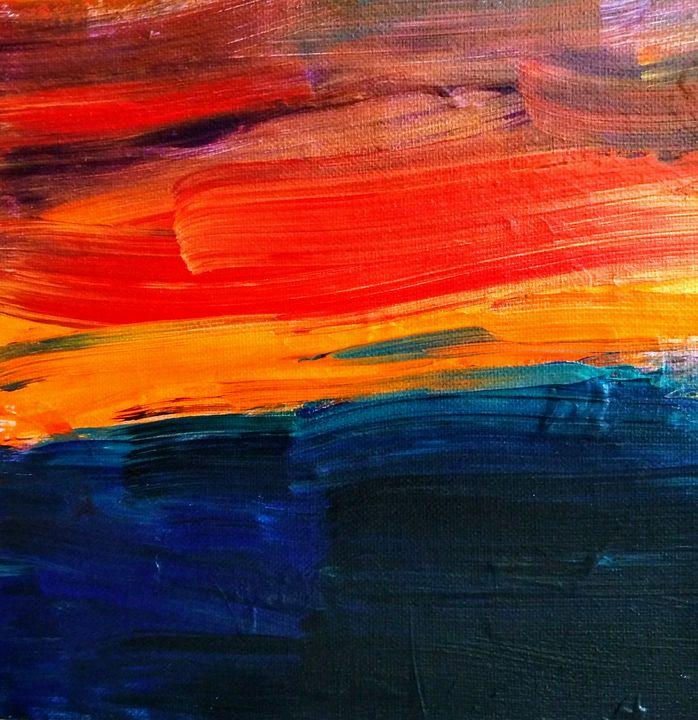 Black Sea Sunrise - All Art is Relative