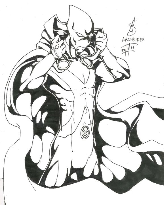 Martian Manhunter Inked - ArcGallery