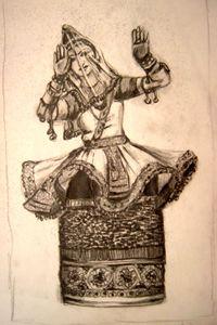Manipuri Dancer