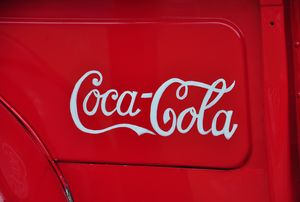 Coca-Cola Truck - Fine Art by Debby