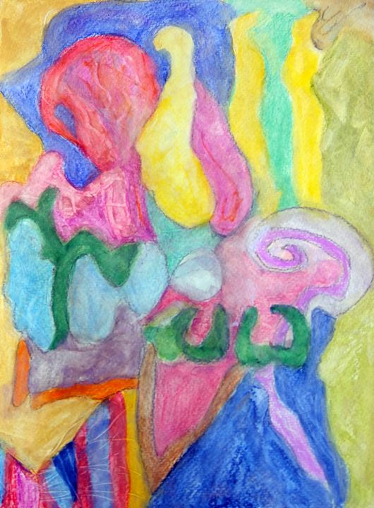 Abstraction of joy and Peace - barbaragreenemannsgallery