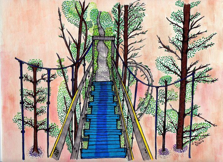 The Path Ahead - jlallen artfull designs
