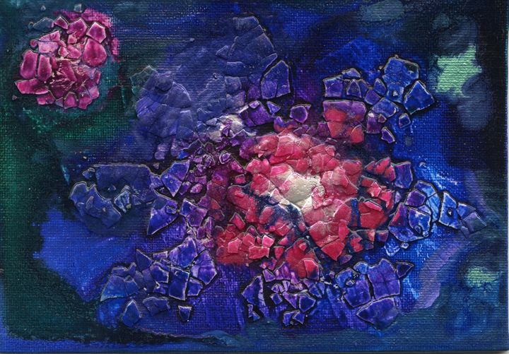 Blue Burst - jlallen artfull designs