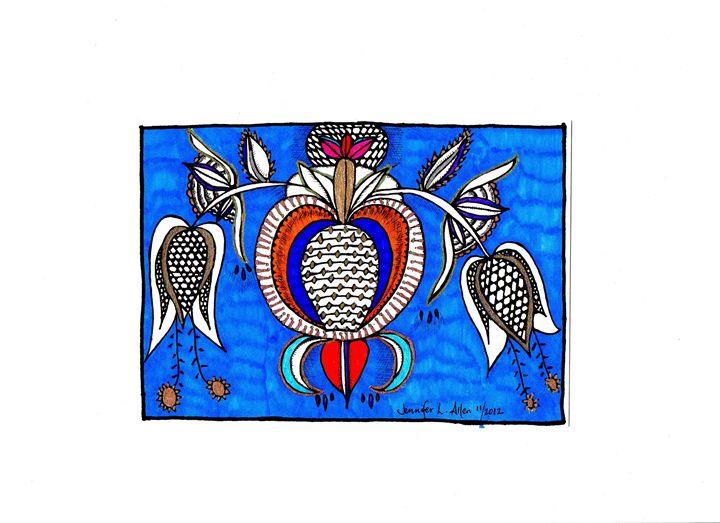 Royal Blue - jlallen artfull designs