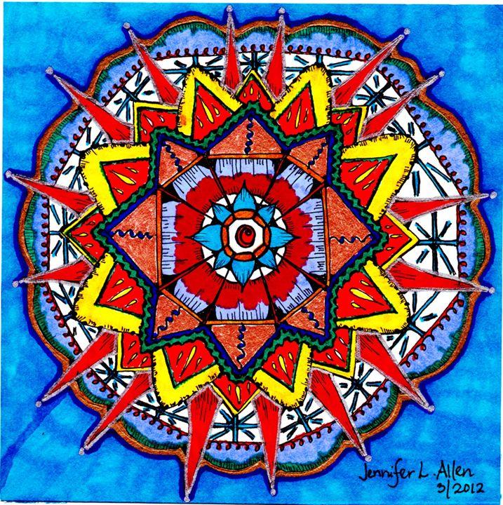 Mandala Vision - jlallen artfull designs