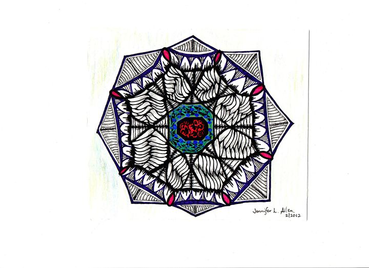 The Tangled Web - jlallen artfull designs