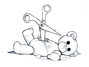 Teddy vs Scissors