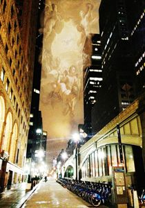 On A City Side Street