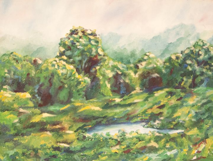 Pond in a Meadow - Cameo Gallery