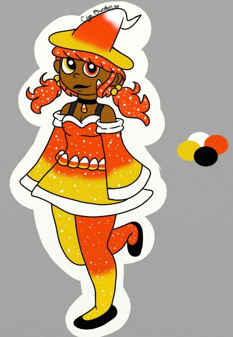 Princess Candy Corn - Ciya's Work