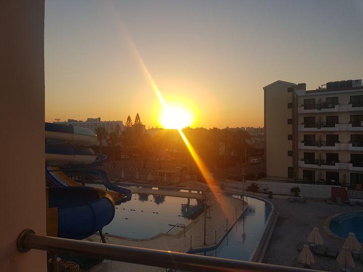 Cyprus sunset - Nikki Matthews