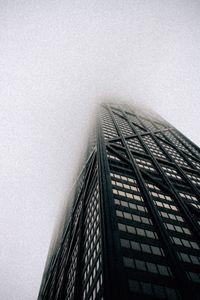 John Hancock Building Fog