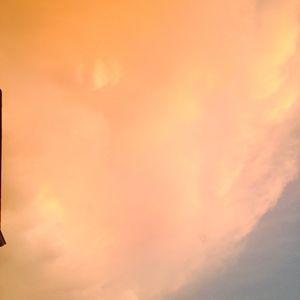 Orange/Pinkish Sky