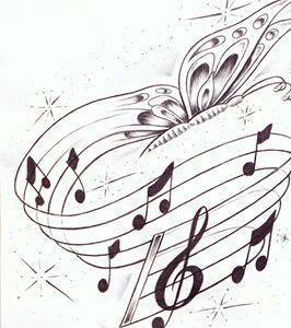 butterflies and music