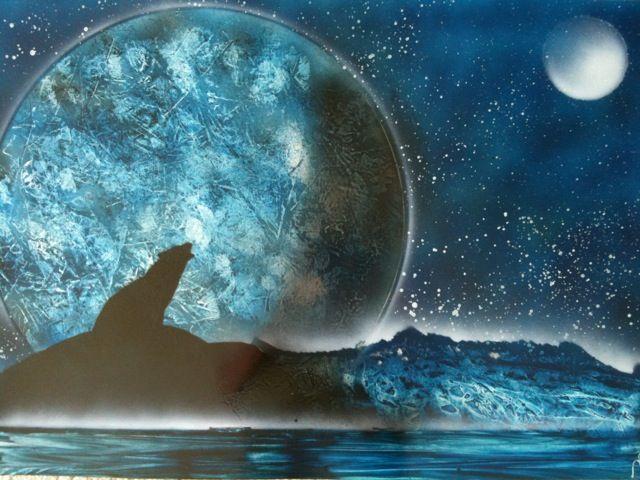 Howling at the Moon - Nathan's Spray Monay
