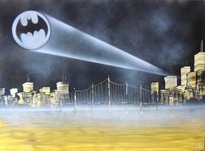 Bat Signal City