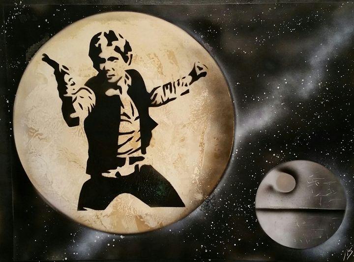 Star Wars - Hans Solo - Nathan's Spray Monay