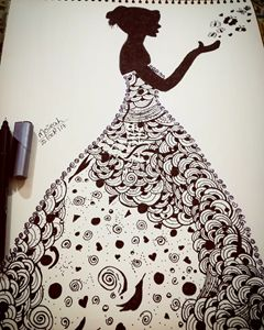 Girl #doodle