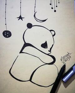 Panda #doodle