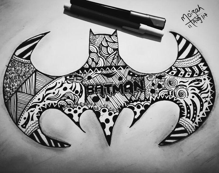 Batman #doodle - Moizah's art