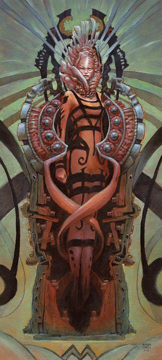 The Coffin Bloom - Ethan Harris Art