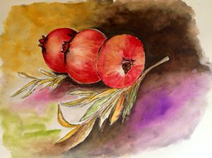 pomegranatesI