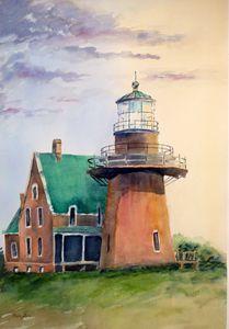 Lighthouse Block Island,Rhode Island
