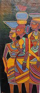 Three woman labor