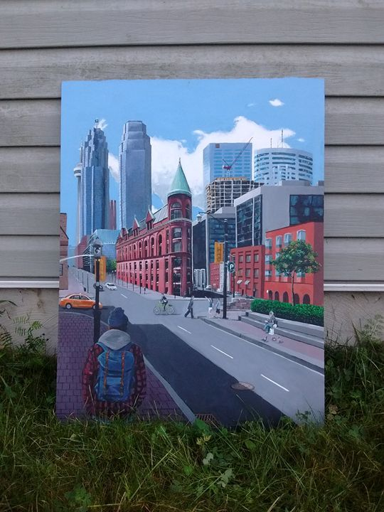 Flat Iron building Toronto Ontario - Katie irwin