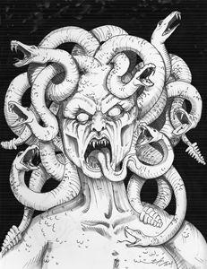 Medusa Portrait