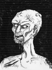 Portrait of a Zombie - Jeanette Andromeda