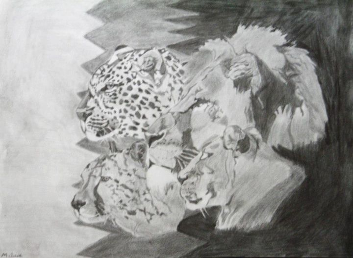 Big Cats of Africa - Artistic Passion