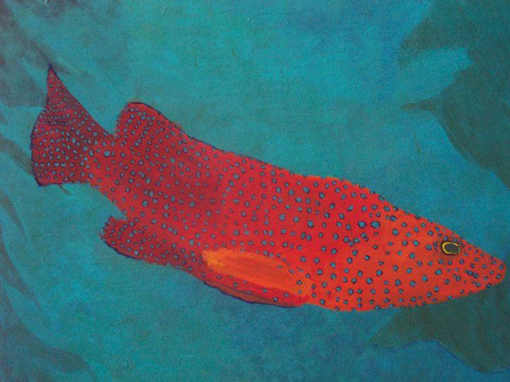 Redfish,bluefish - Mural of the Storey