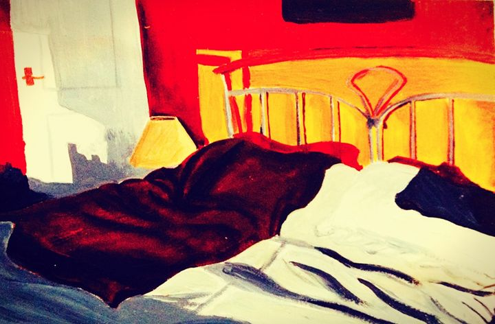 Sunset room - Sarah's original artwork