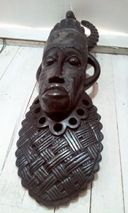African traditional mask