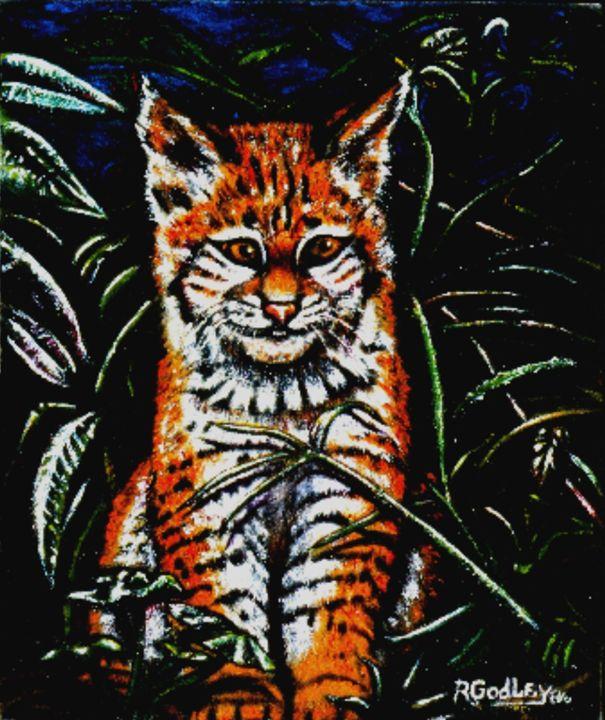 'Jungle Kitty' - Ron Godley