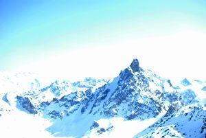Summit of Saulire